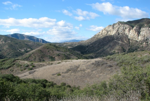 Aliso Canyon Sage hill hike trail los padres national forest
