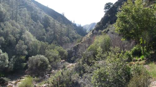 Los Padres National Forest Hike Judell Canyon Sisquoc River