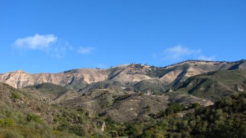 Los Padres National Forest Little Pine Mountain Santa Barbara Backcountry Hike Nineteen 19 Oaks Upper Oso Santa Cruz Trail