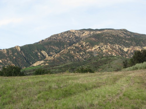 Los Padres National Forest Santa Barbara Day Hike Santa Ynez Mountains Jesusita Trail