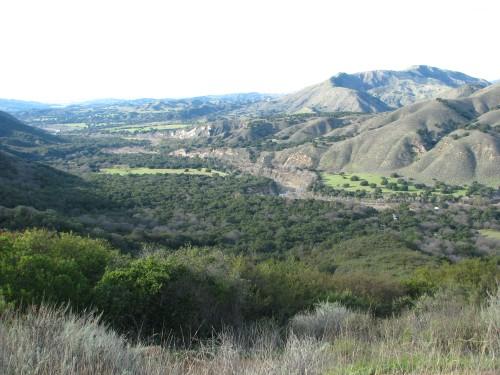 Los Padres National Forest Knapp's Castle Santa Ynez Mountains River Santa Barbara Day Hike Snyder Trail