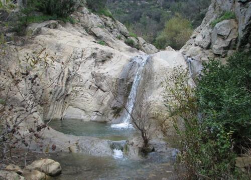 Los Padres National Forest Seven Falls Hike Santa Barbara
