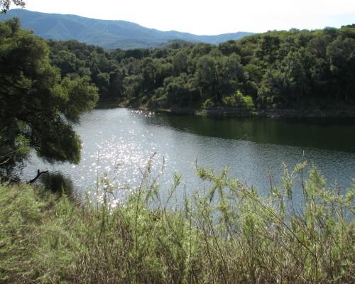 Los Padres National Forest Santa Barbara Day Hike Lake Cachuma Santa Ynez River Sweetwater Cove
