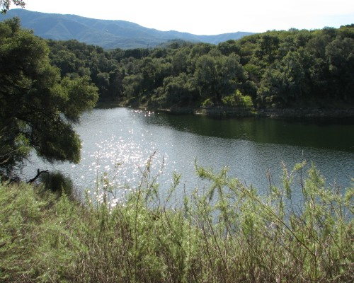 Los Padres National Forest Santa Barbara Day Hike Lake Cachuma Santa Ynez River Sweetwater Cove
