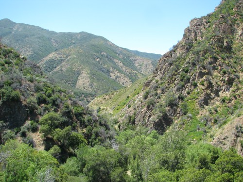 Los Padres National Forest San Rafael Wilderness Santa Barbara Hike Manzana Creek