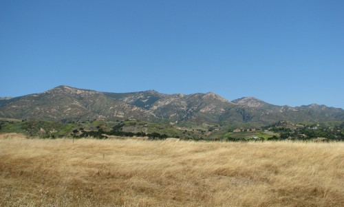 Santa Barbara Hike San Marcos Foothills Preserve Santa Ynez Mountains