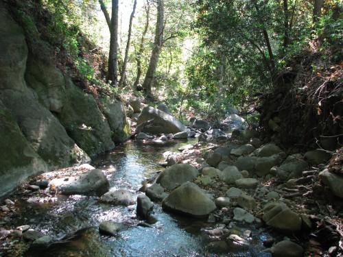 Santa Ynez Mountains El Capitan State Beach Creek Bill Wallace Trail