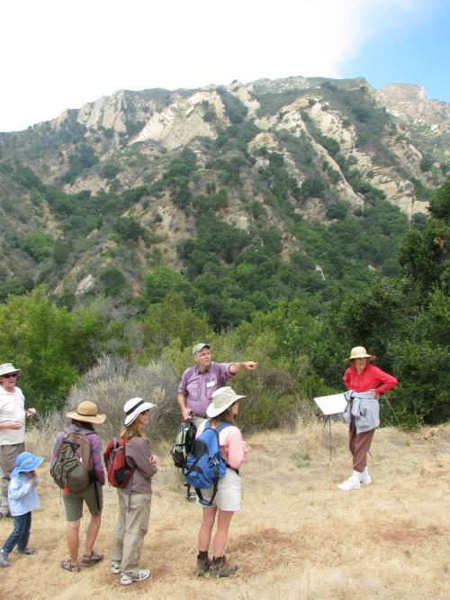 Santa Ynez Mountains Arroyo Hondo Preserve Santa Barbara Hike Trail