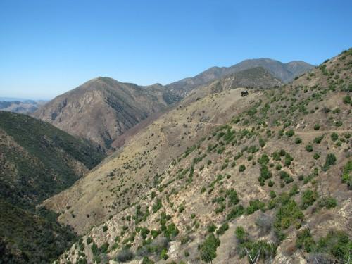 40 mile wall Los Padres National Forest Santa Cruz Trail Santa Barbara hike backcountry