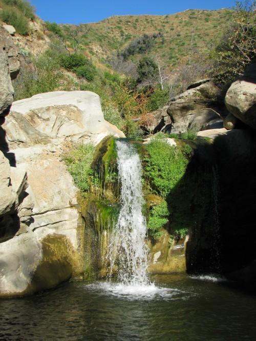Santa Cruz Creek Falls Los Padres National Forest San Rafael Wilderness