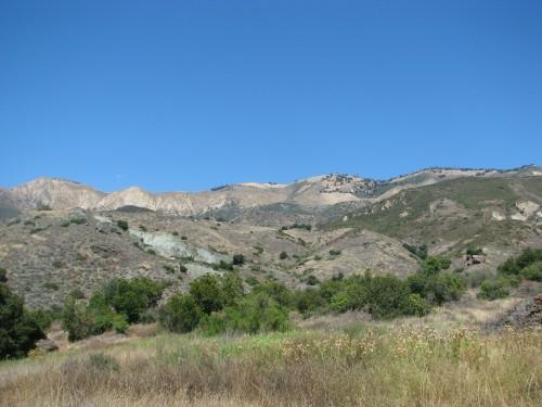 Little Pine Mountain Nineteen Oaks Santa Cruz Trail Santa Barbra Hike Los Padres National Forest Backcountry