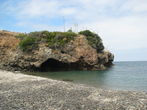 Tinker's Cove Santa Cruz Island Channel Islands National Park Hike Pelican Bay