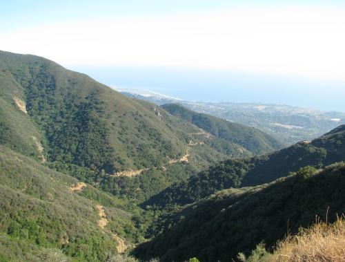 Romero Canyon Trail Santa Barbara HIke Los Padres National Forest Santa Ynez Mountains