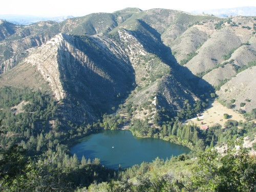 Zaca Lake Ridge Trail Los Padres National Forest Santa Barbara Hike