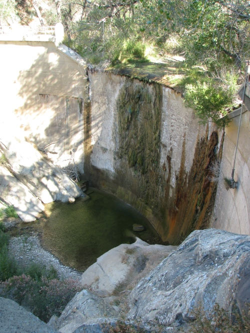 Agua Caliente Dam Hot Springs Los Padres National Forest Santa Barbara Hike