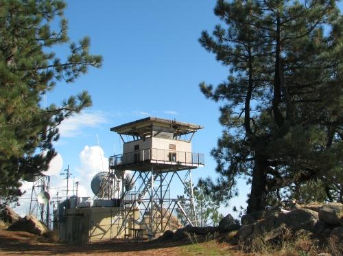 Los Padres National Forest Santa Ynez Mountains La Cumbre Lookout