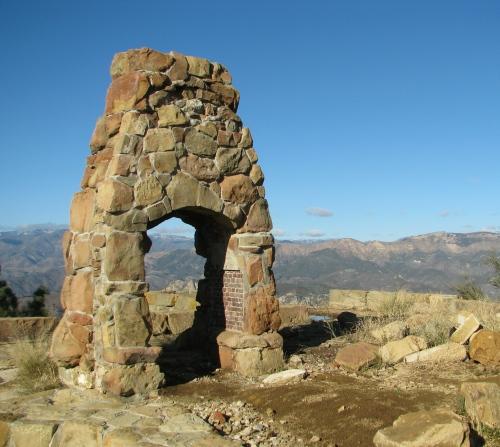 Los Padres National Forest Knapp's Castle Snyder Trail Santa Ynez Mountains Santa Barbara Hike