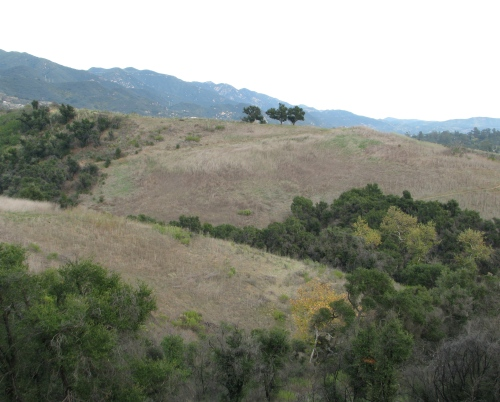 Parma Park East West Santa Barbara Hike Santa Ynez Mountains