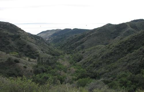 Baron Ranch Santa Ynez Mountains Hike Santa Barbara Coast Trail