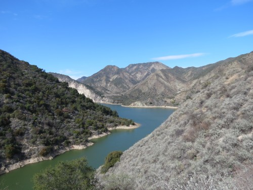 Gidney Cove Los Padres National Forest Santa Barbara Backcountry Gibraltar Trail Dam Hike