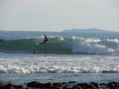 Rincon Surfing Surfer