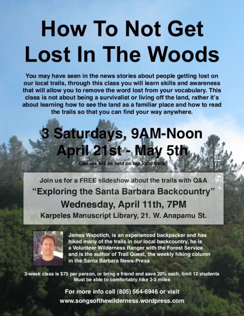 Los Padres National Forest Santa Barbara Hike Trails