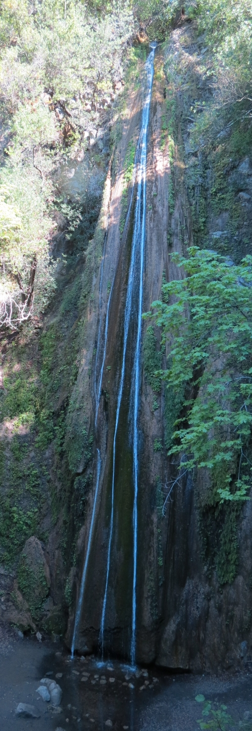 Nojoqui Falls Santa Ynez Mountains Santa Barbara Hike Waterfall
