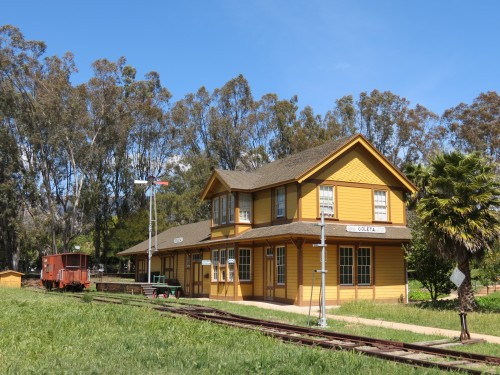 Goleta Train Depot Lake Los Carneros