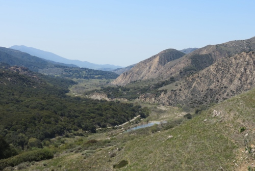 Santa Ynez River Camuesa Connector Trail Los Padres National Forest Santa Barbara Hike