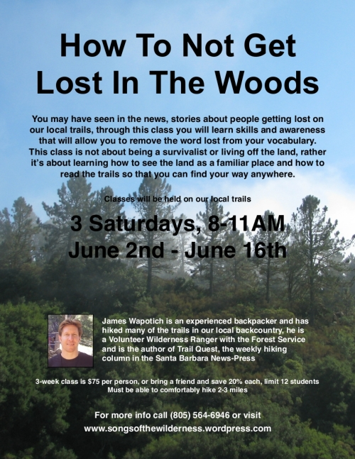 Los Padres National Forest Santa Barbara Trail Day Hike Hiking