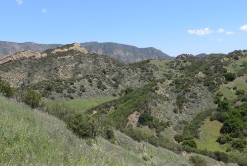 Matias Potrero Santa Ynez River Santa Barbara Hike Trail Los Padres National Forest