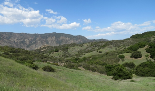 Santa Ynez Mountains River Matias Potrero Santa Barbara Hike Los Padres National Forest