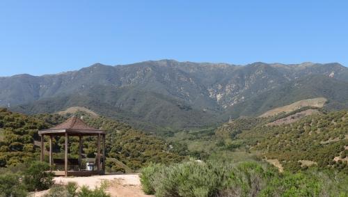 Toro Canyon Park Santa Barbara hiking trial
