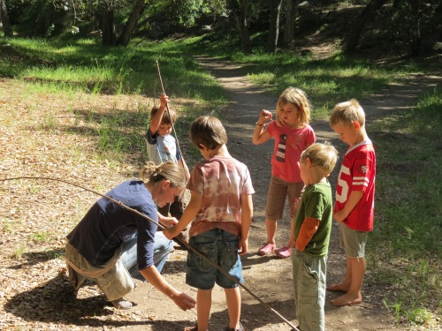 Wild Roots Forest School Richard Louv Santa Barbara