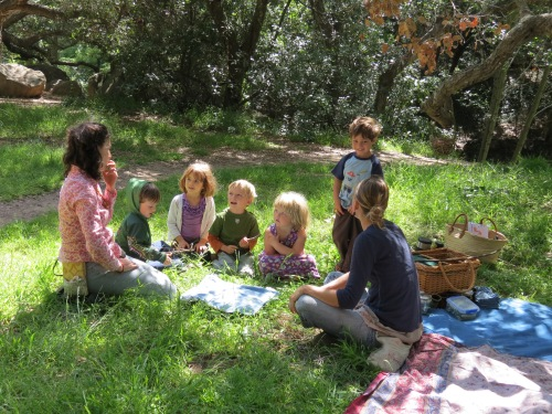 Wild Roots Forest School Richard Louv Santa Barbara