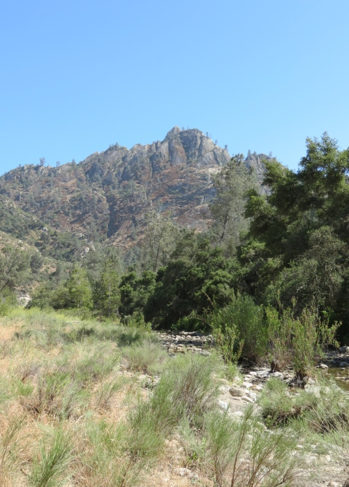 Castel Rock Manzana Creek Los Padres National Forest