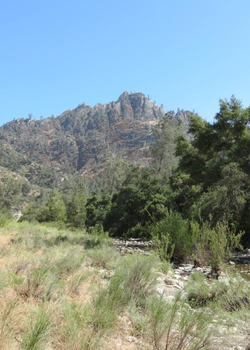 Castel Rock Manzana Creek Los Padres National Forest