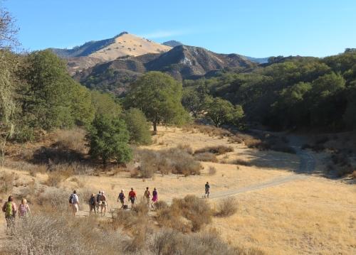 """Midland School"" ""Grass Mountain"" ""Santa Barbara"" day hike"