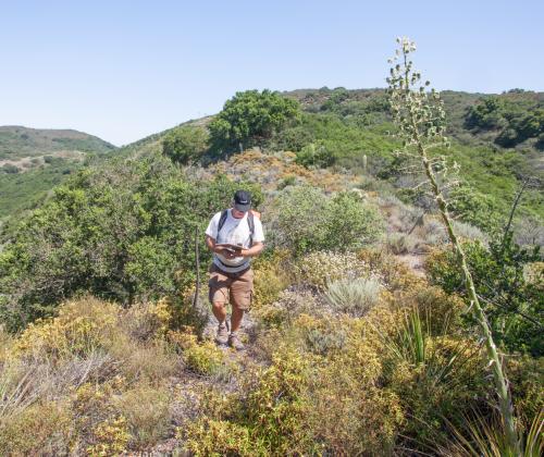 """Baron Ranch"" ""Baron Ridge Trail"" ""West extension"" ""Santa Barbara"" day hikes"