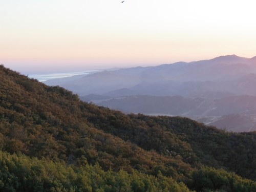 Santa Barbara Hike Trail Los Padres National Forest Gaviota State Park Peak
