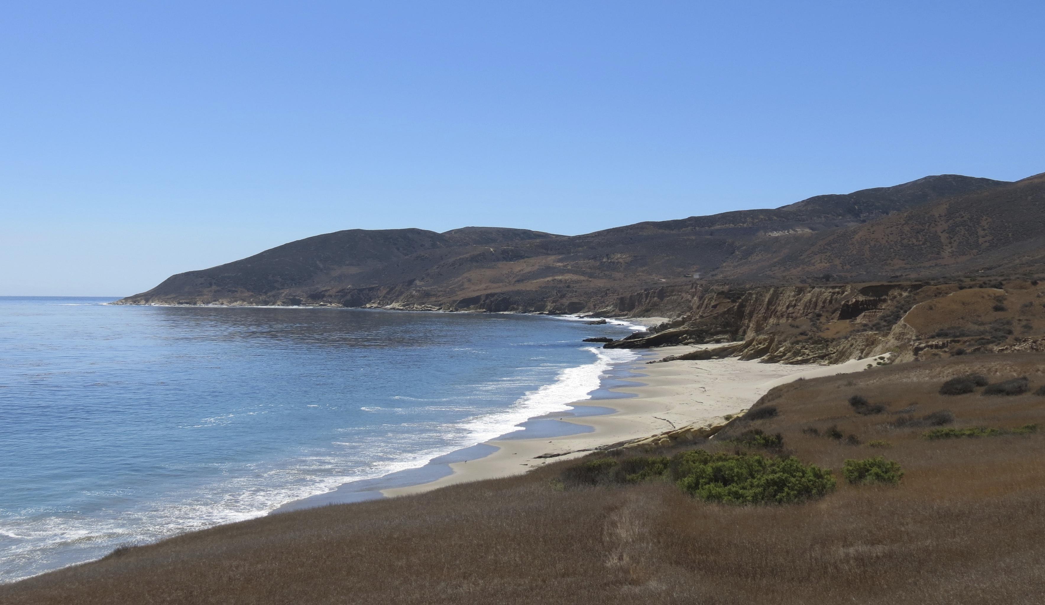 Santa Rosa Island Backcountry Beach