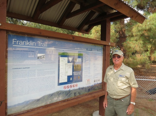 Bud Girard Franklin Trail Santa Barbara Carpinteria hike Los Padres National Forest reopened