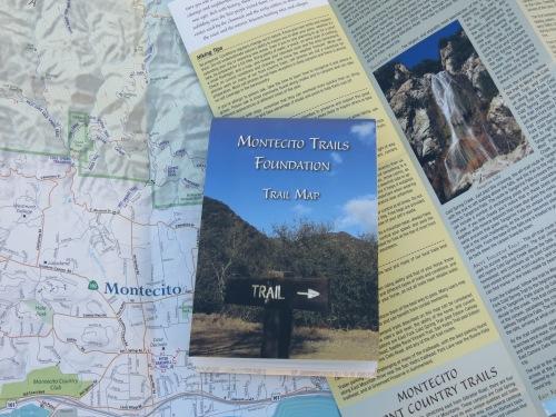 Montecito Trails Foundation Map Santa Barbara hike