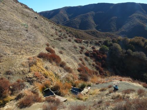 Little Caliente Hot Springs Agua Big Los Padres National Forest Santa Barbara hike trail