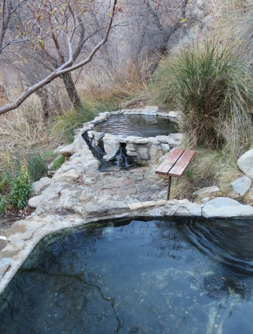 Agua Caliente Creek Trail Big Hot Springs Los Padres National Forest Santa Barbara hike