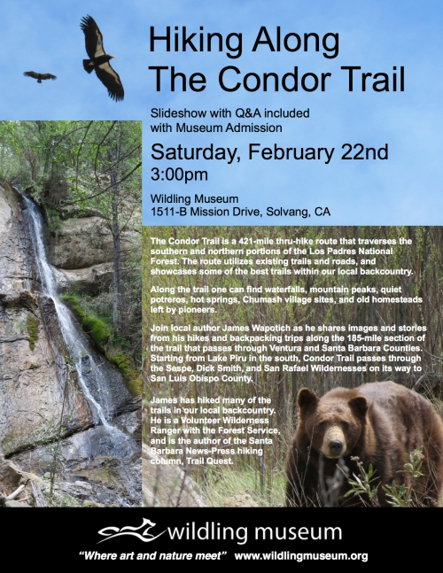 Los Padres National Forest Santa Barbara hike Condor T rail