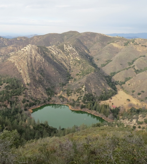 Zaca Lake Peak Ridge Trail San Rafael Mountains Los Padres National Forest Midland School hike Santa Barbara