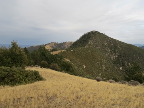 Zaca lake Ridge Peak Trail Santa Barbara hike Midland School Los Padres National Forest