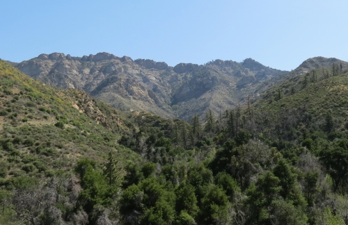 Los Padres National Forest Pelch Grapevine San Rafael Wilderness Santa Barbara hiking trial