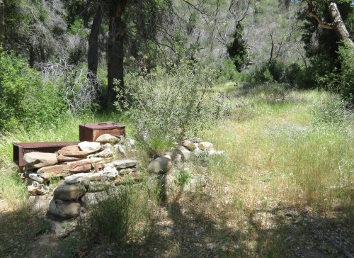 Pelch Camp San Rafael Wilderness Grapevine Trail Los Padrees National Forest